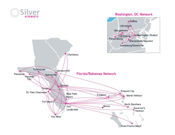 Silver Airlines | The Florida Squeeze