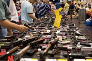 """Houston Gun Show at the George R. Brown Convention Center"""