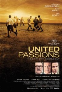"""United Passions"" by Source (WP:NFCC#4). Licensed under Fair use via Wikipedia - https://en.wikipedia.org/wiki/File:United_Passions.jpg#/media/File:United_Passions.jpg"