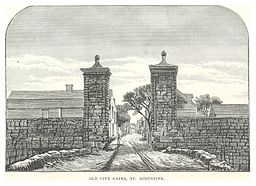 Florida,_St.Augustine,_Old_City_Gates
