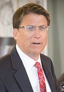 By NCDOTcommunications (Governor McCrory.jpg) [CC BY 2.0 (http://creativecommons.org/licenses/by/2.0)], via Wikimedia Commons