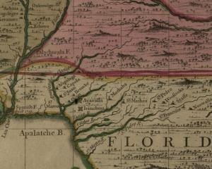 By Henry Popple - Hargrett Rare Book and Manuscript Library (University of Georgia): Map id: hmap1733p6 http://dlg.galileo.usg.edu/hmap/id:hmap1733p6 (Map page 10), Public Domain, https://commons.wikimedia.org/w/index.php?curid=12675129