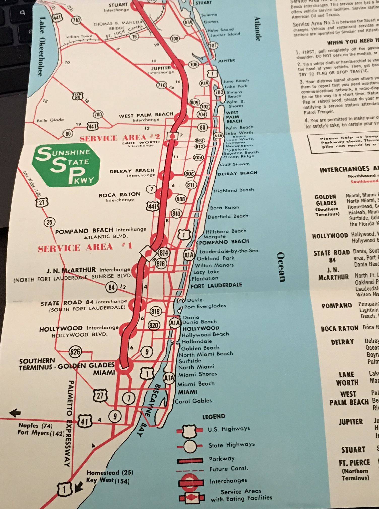 Florida Turnpike Map.Flashback Friday Florida S Turnpike At 60 Part 1 Of 3 The Florida