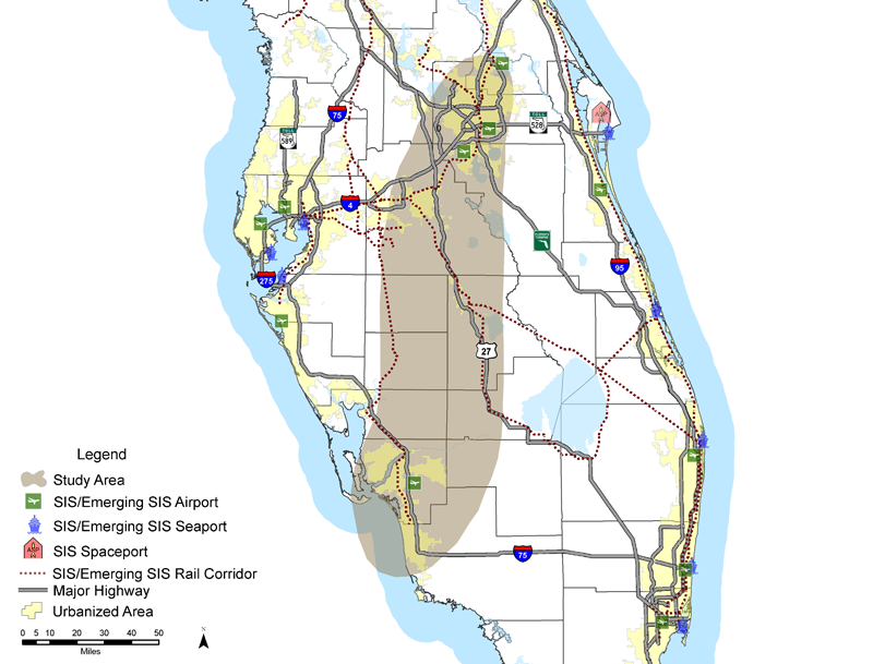 Heartland Florida Map.Have Hermine And Irma Demonstrated The Need For New Evacuation