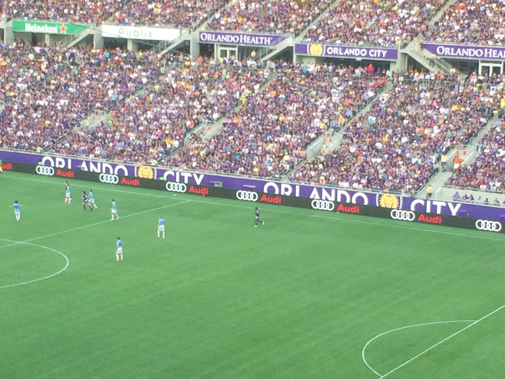 ed8d6f917ff Orlando City filled every seat in the Citrus Bowl for its 2015 opener in MLS own  work